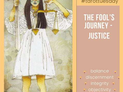 Tarot Tuesday: The Fool's Journey - Justice