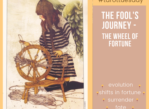 #tarottuesday: The Fool's Journey - The Wheel of Fortune