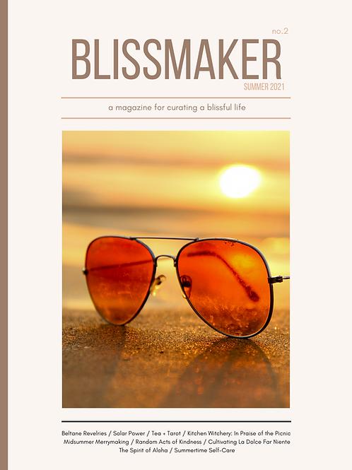 Blissmaker Magazine - Summer 2021 (no. 2)