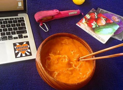 Fuel Your Body: Tomango Gazpacho Soup Recipe