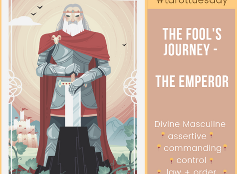 Tarot Tuesday:  The Fool's Journey - The Emperor