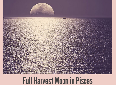 Full Harvest Moon in Pisces - Deep Diving + A Simple Ritual