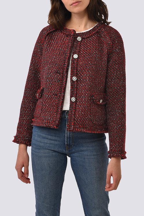 Veste en tweed Coralie