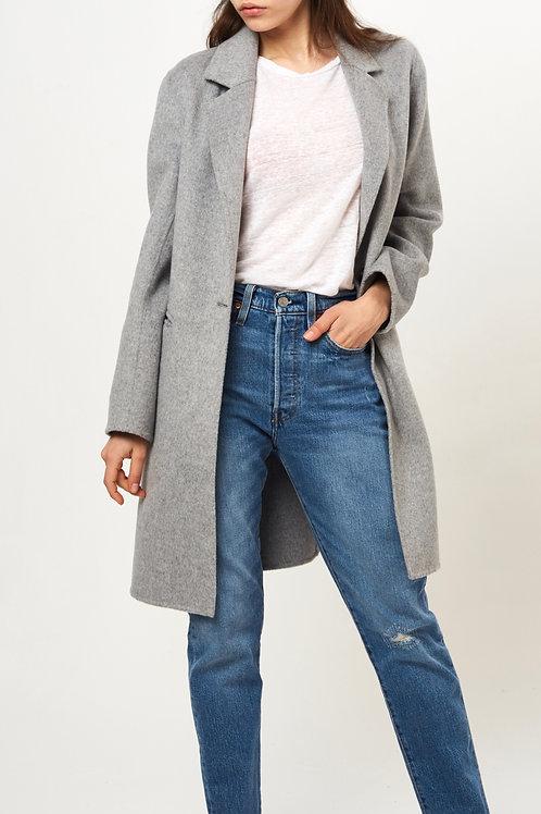 manteau cachemire souple femme devant 2