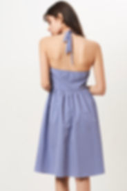 germain sur mesure robe claire