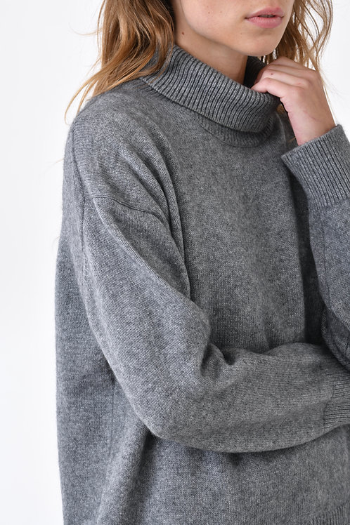 4 Ply 100% Cashmere Turtleneck