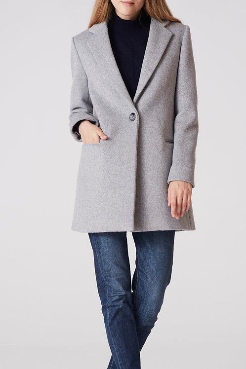 manteau cachemire femme classique devant