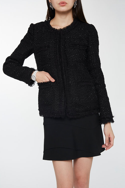 Veste en tweed Laurène