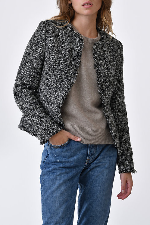 Veste en tweed Roxane