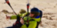 Tim King portrait paragliding lesson