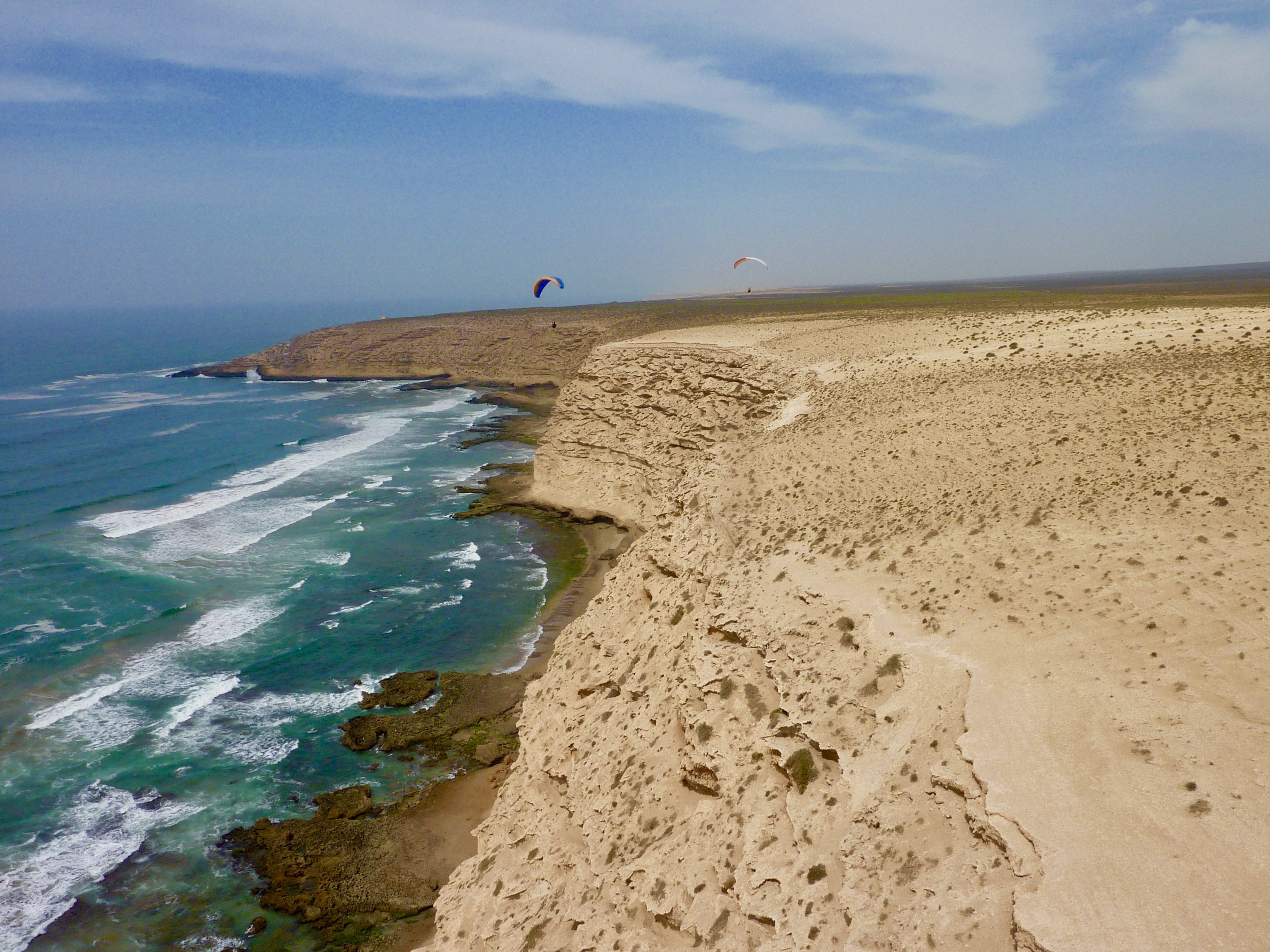 Aglou plage soaring Morocco