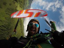Sky Paragliders Kooky acro wing