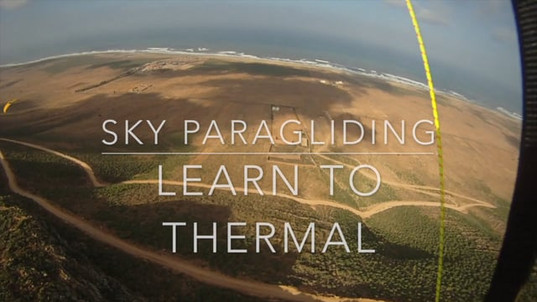 Sky Paragliding thermal lesson Morocco