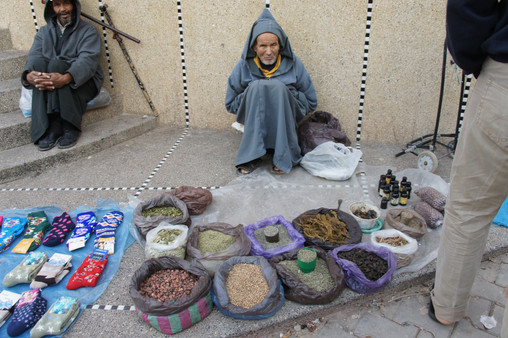 Tastes and smells of Morocco