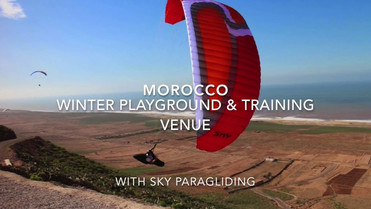 Sky Paragliding development course and holiday