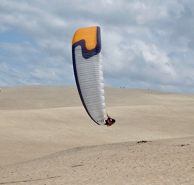 Tim King flying dune du pyla
