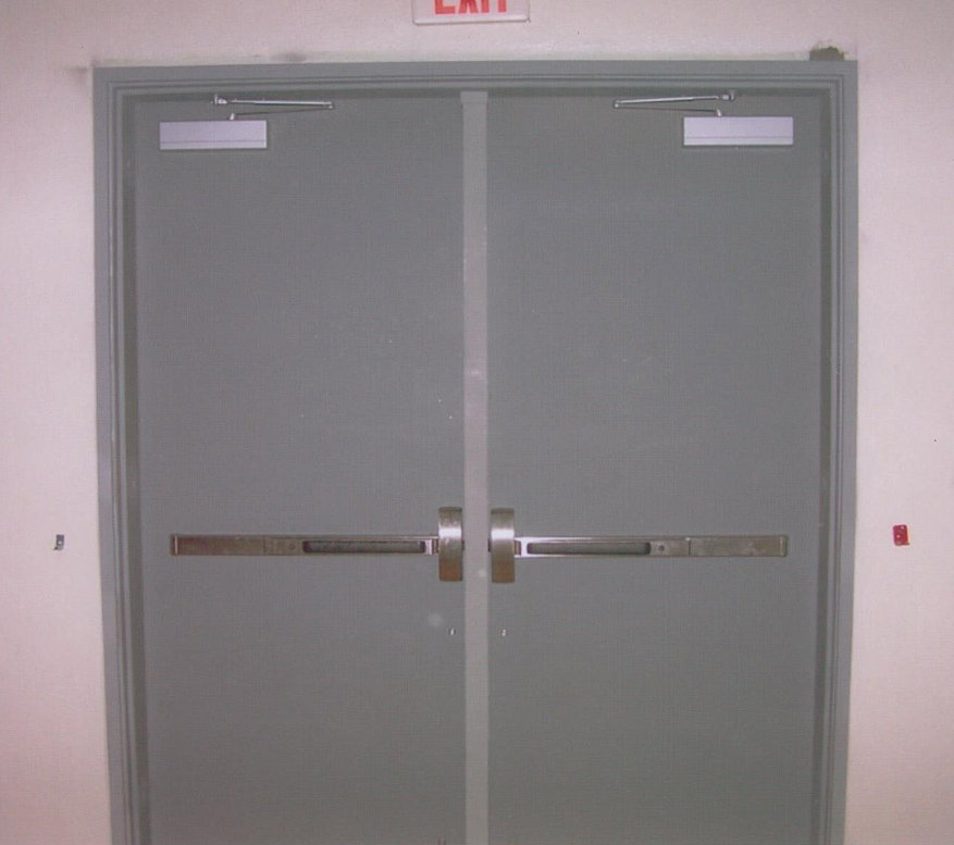 Double Steel Doors : American steel iron co inc