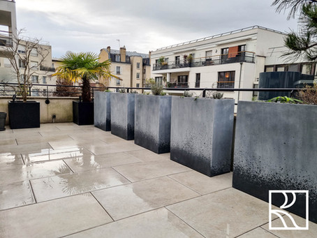 Aménagement d'une terrasse à Suresnes (92) – Février 2021