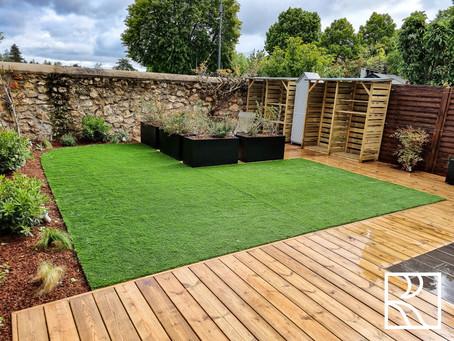 Aménagement de jardin à Saint Aubin (91) – Mai 2021