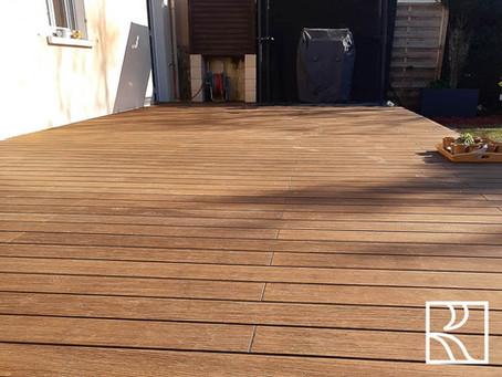 Terrasse bois à Saclay (91) Avril 2021