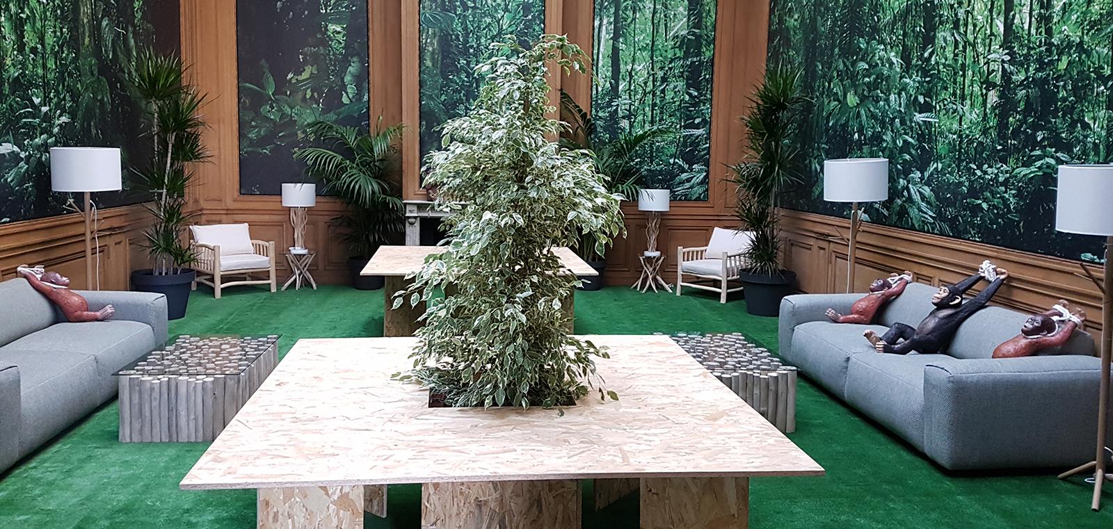 Jungle room - Salle détente
