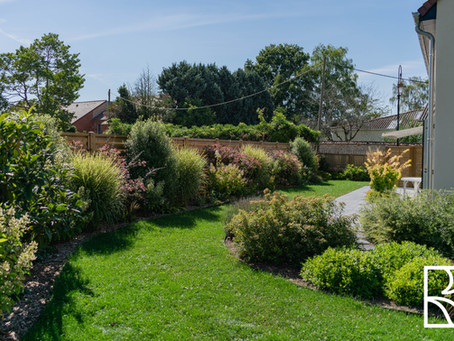 Évolution d'un jardin aménagé en 2019 à Magny-les-Hameaux (78)