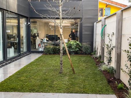 Aménagement d'un patio à Bagnolet (93) – Janvier 2021