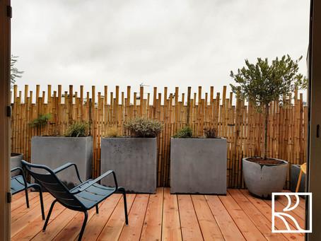 Aménagement de deux terrasses à Boulogne Billancourt (92) – Janvier 2021