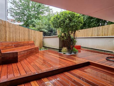Aménagement d'un jardin à Massy (91) – Juillet 2021