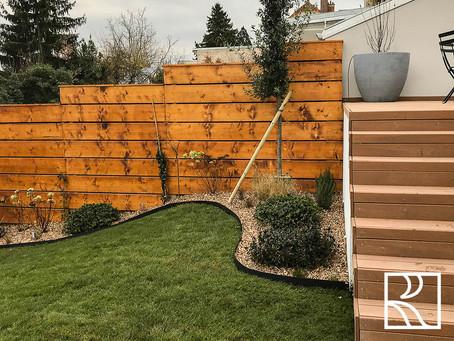 Aménagement d'un jardin à Clamart (92) - Décembre 2020