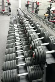 Ironworks Gym Cemco Pro-Style Urethane Dumbbells 5lb-150lb