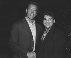 Lou Penrose & Arnold Schwarzenegger