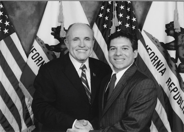 Lou Penrose & Mayor Rudy Giuliani