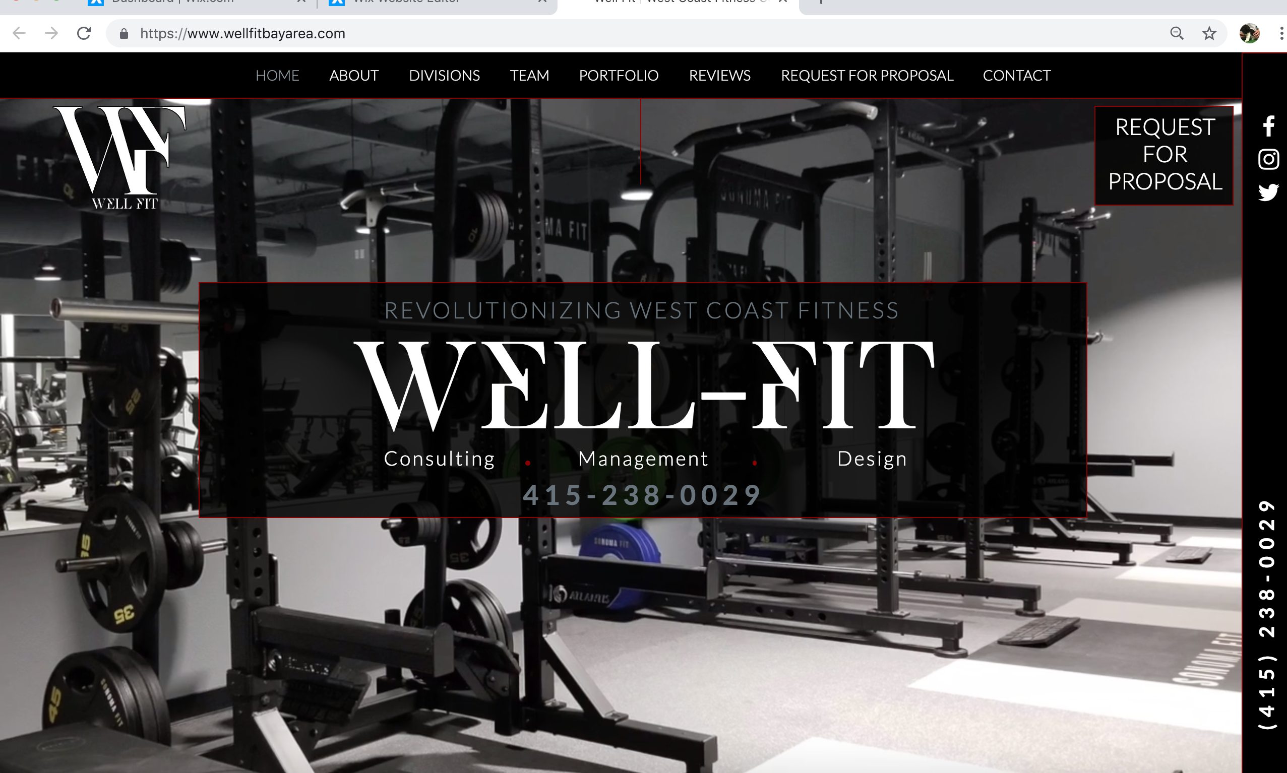 Well fit west coast fitness consultant