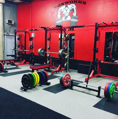 Ironworks Gym Racks