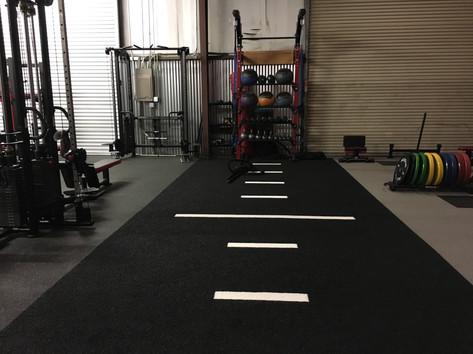 Ironworks Gym Bootcamp Area