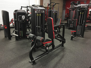 Ironworks Gym Seated Tricep Dip