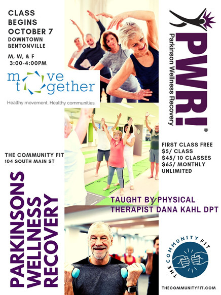 The Community Fit | PWR! Parkinsons Wellness Recovery