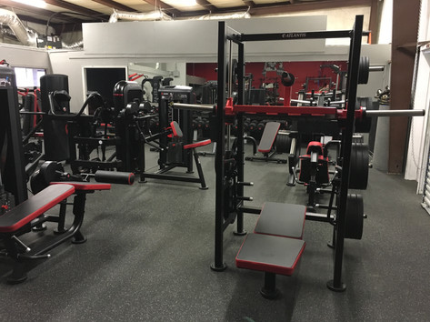 Ironworks Gym Legs Area