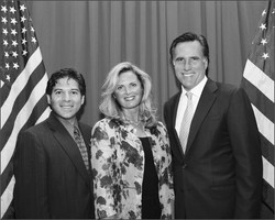 Lou Penrose & Governor Mitt Romney