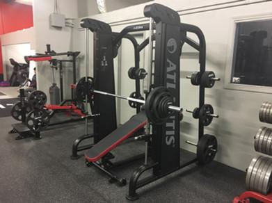 Ironworks Gym Smith Machine