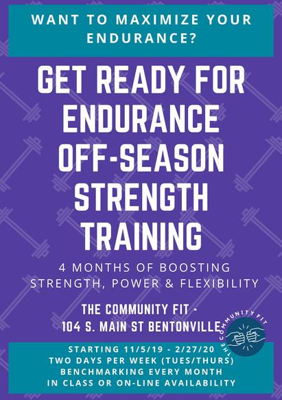 The Community Fit | Endurance Strength Training