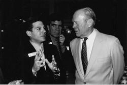Lou Penrose & President Gerald Ford