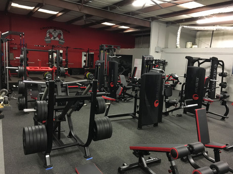 Ironworks Gym Free Weight Area and Machines