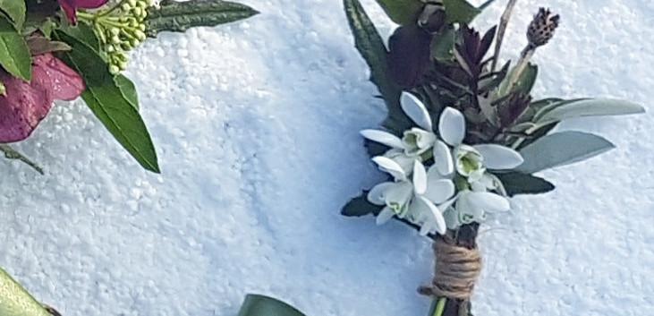 February Buttonhole