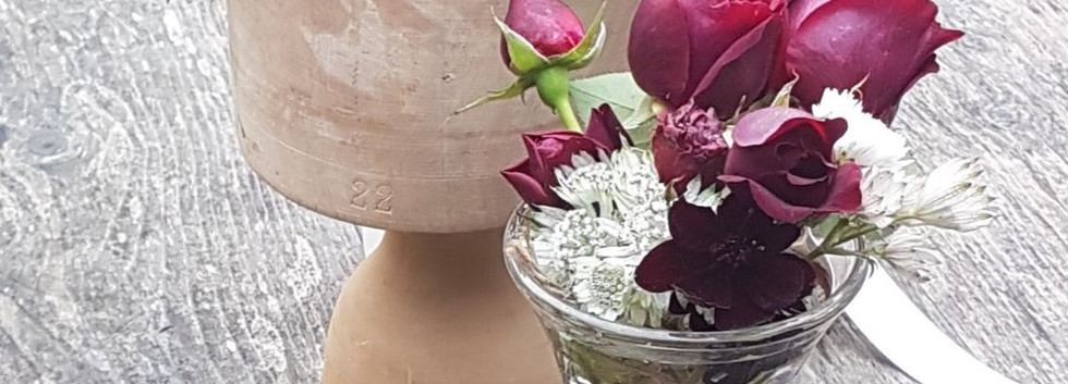 October Crown and Buttonhole