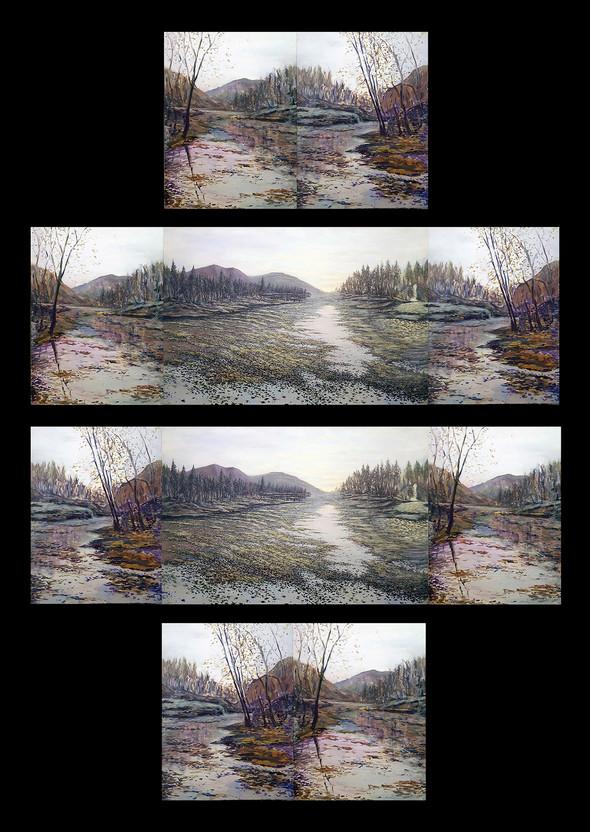 Peaceful Silence (Interchangeable Triptych)