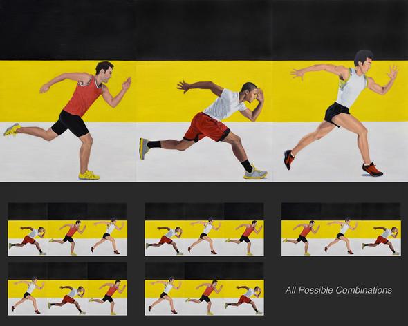 Race (Interchangeable Triptych)