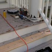 Exterior wood rot repairs