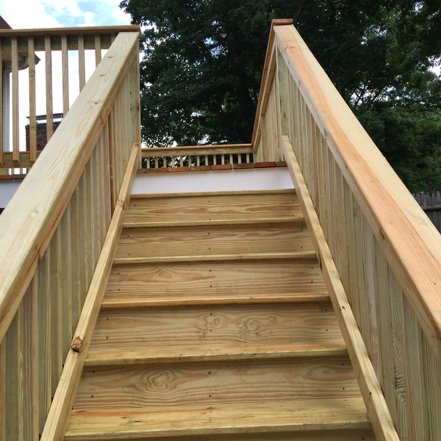 New Stair Installation